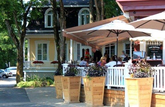 Auberge la Muse - terrasse