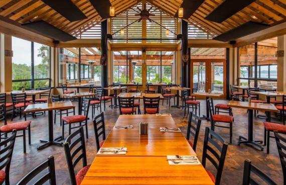 Restaurant vue ocean