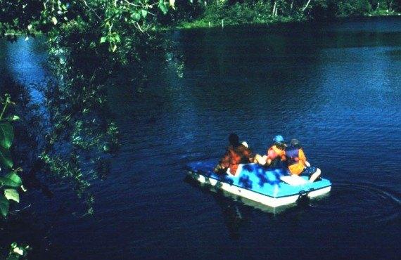 Camping Amqui - Pédalo à proximité
