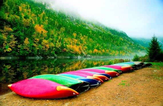 Parc National des Hautes-Gorges en automne
