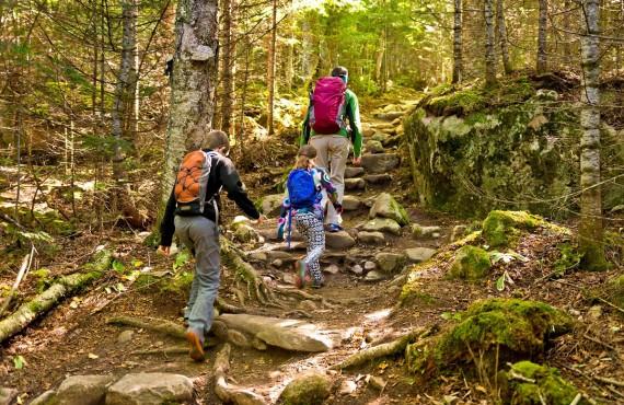 Randonnée pédestre, Hautes-Gorges