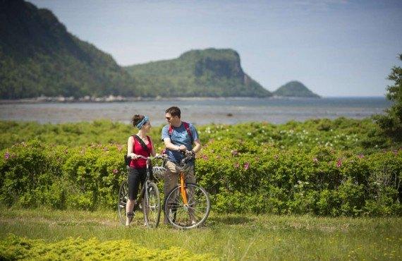 Camping du Parc du Bic - Randonnée à vélo