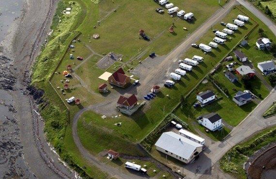 Camping Parc et Mer Mont-Louis - Vue aérienne