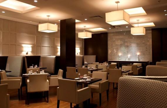 Salle à manger du restaurant C|Prime
