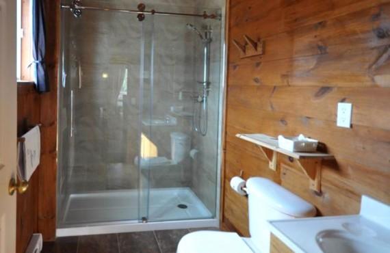 Les chalets Mekoos - Salle de bain