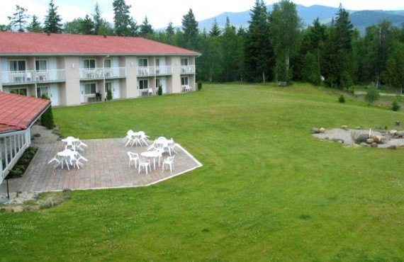 Clearwater Lodge - Terrasse