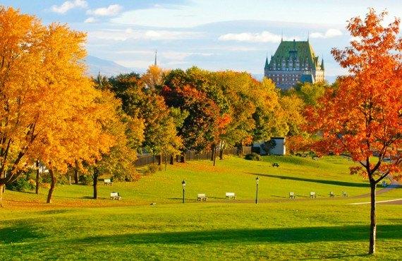 Coucher chez l'Habitant - Plaines d'Abraham, Québec