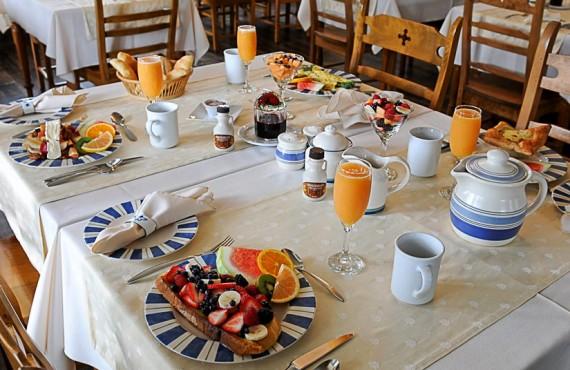 Gîte le Voyageur - Déjeuner