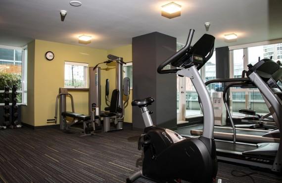 Salle de Gym de l'Hôtel