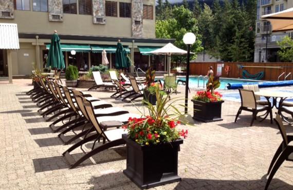 Hôtel Mountain Side - Piscine