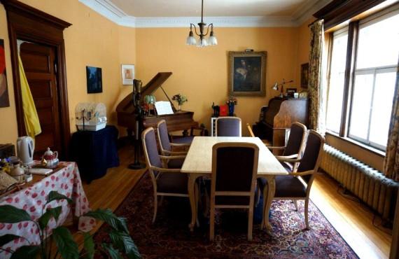 La Marquise de Bassano - Salle à manger