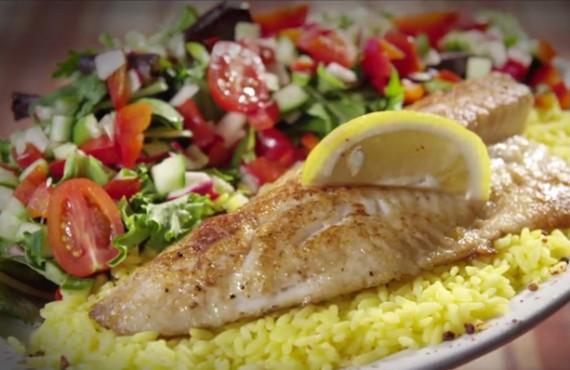 Pourvoirie Rabaska - Repas, filet de poisson