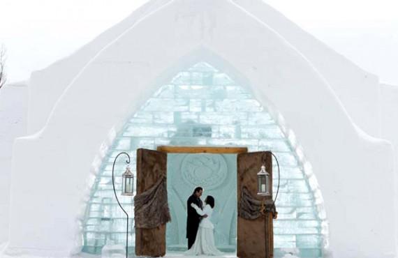 Visite de l'Hôtel de Glace - Célébration de mariage