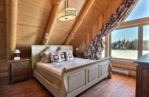 Cabane au Canada - chambre