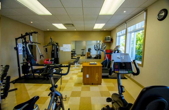 Appartements sur le Fjord - Gym