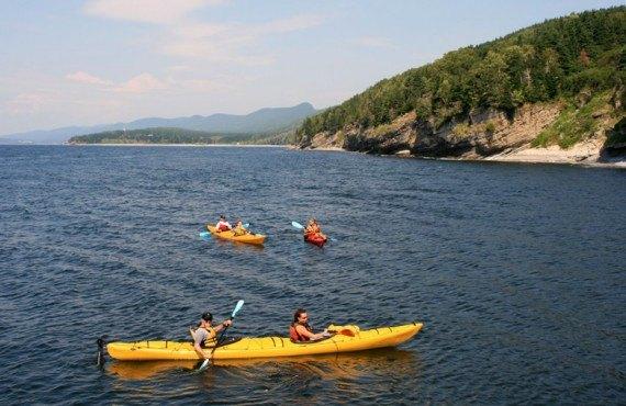 Auberge La Petite École - Excursions en kayak à proximité