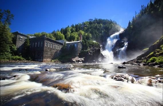 Ouiatchouan waterfall