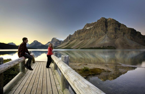Bow Lake, Parc National de Banff