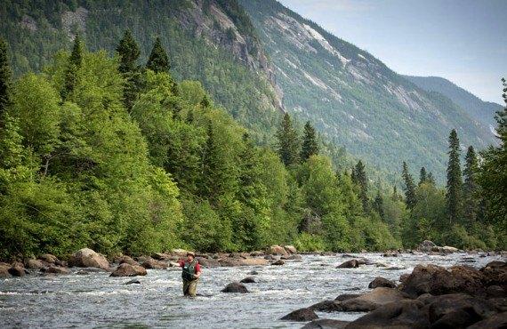 Pêche dans le Parc des Hautes-Gorges