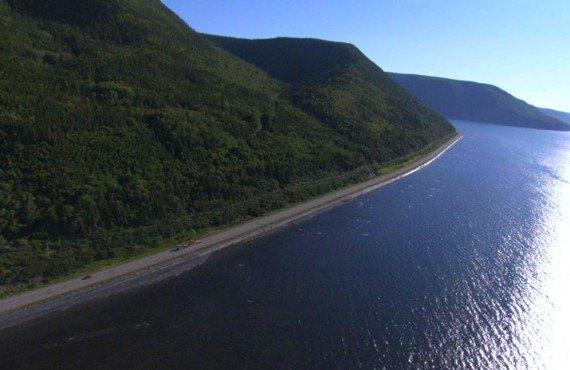 Parc de la Gaspésie - Route 132