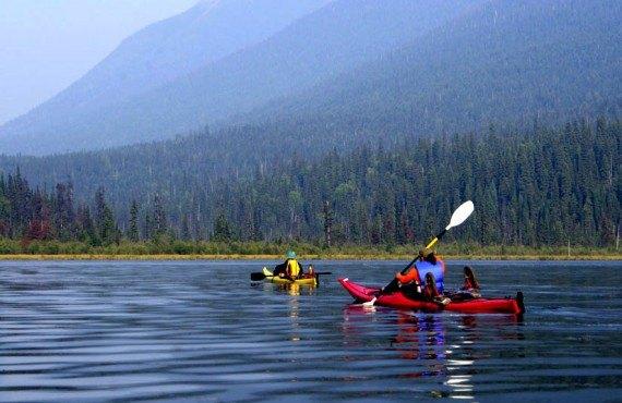 Kayak de mer sur le Fjord du Saguenay
