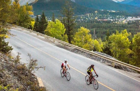 Randonnée à vélo, parc natinal de Banff, AB