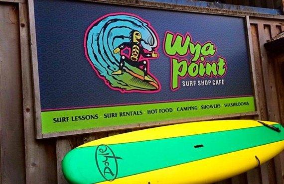 Camping Wya Point - Location de surfs