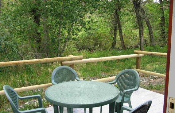 Chalet Hat Creek Ranch - Terrasse d'un chalet