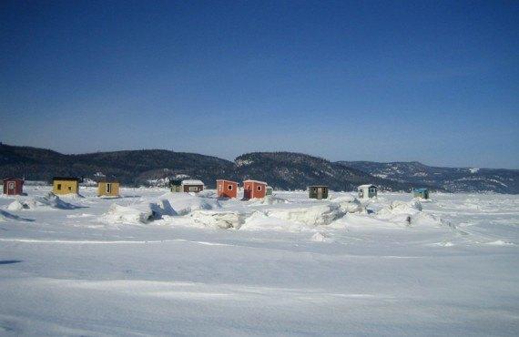 Chalets du Fjord - Pêche sur glace