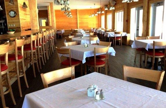 Chalets & Spa Lac St-Jean - salle à manger