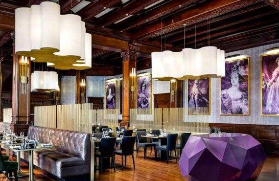 Q at the 'Empress Restaurant