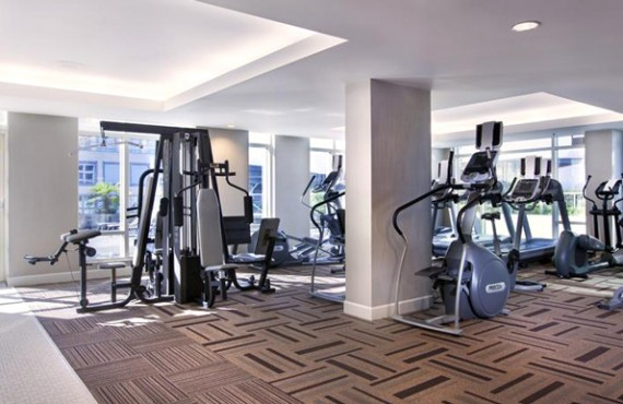 Fairmont Waterfront - Gym