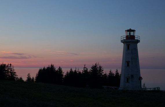 Phare, Pointe-Carleton