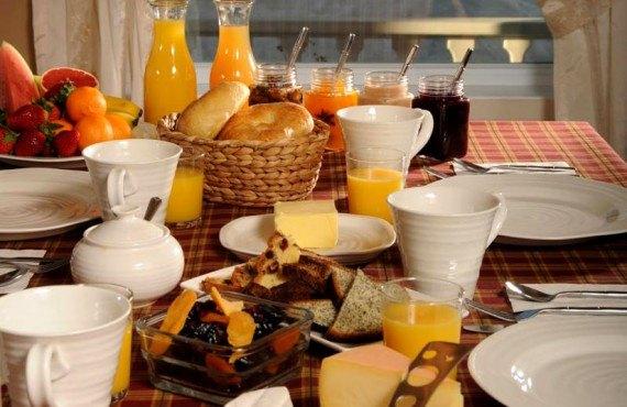 Gîte Fleury - Petit-déjeuner