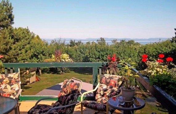 Balcon avec vue panoramique
