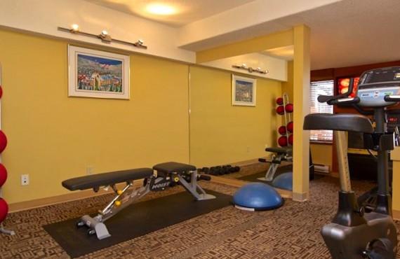 Hôtel Mountain Side - Gym