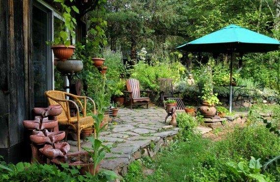 Jardins de l'Achillée Millefeuille - Jardin