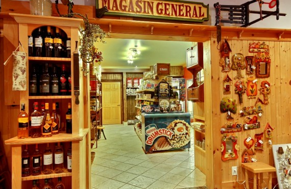 General store, souvenirs