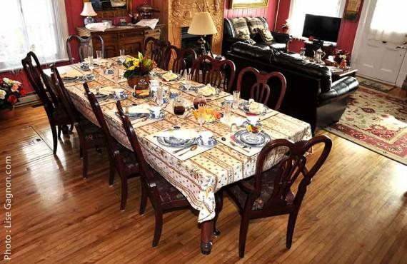 Maison Hovington - Salle à manger