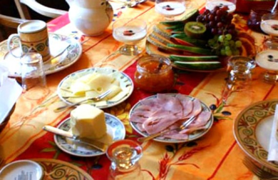 La Marquise de Bassano - Petit déjeuner