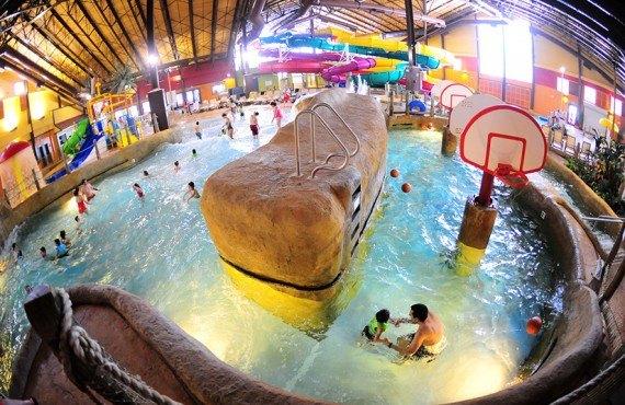 Mountain View Resort - Parc aquatique Kahuna Laguna