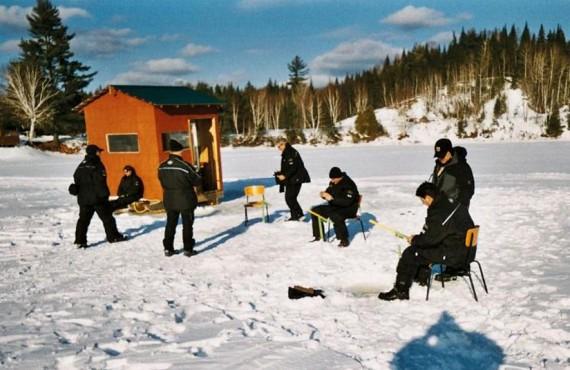Pourvoirie du Nord - La pêche sur glace