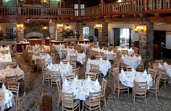 Restaurant aux Chantignoles, Château Montebello