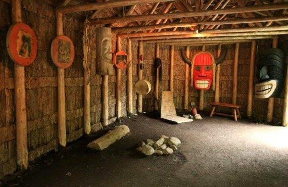 Site Traditionnel Huron - Les masques