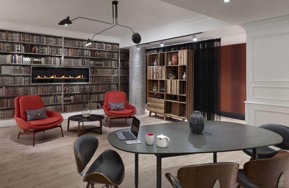 Lobby / Bibliothèque