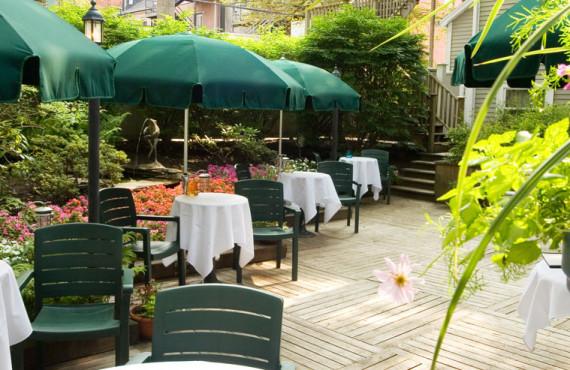 Terrace, garden