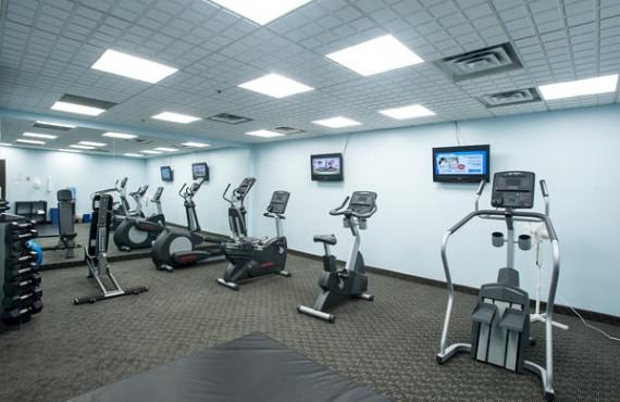 Salle d'entraînement