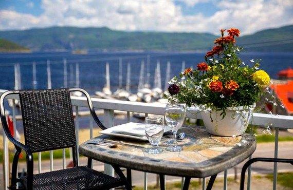 Appartements sur le Fjord - Terrasse