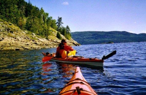 Auberge la Fjordelaise - Kayak