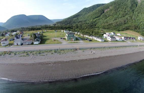 Chalets Vermont - Vue aérienne des Chalets Vermont